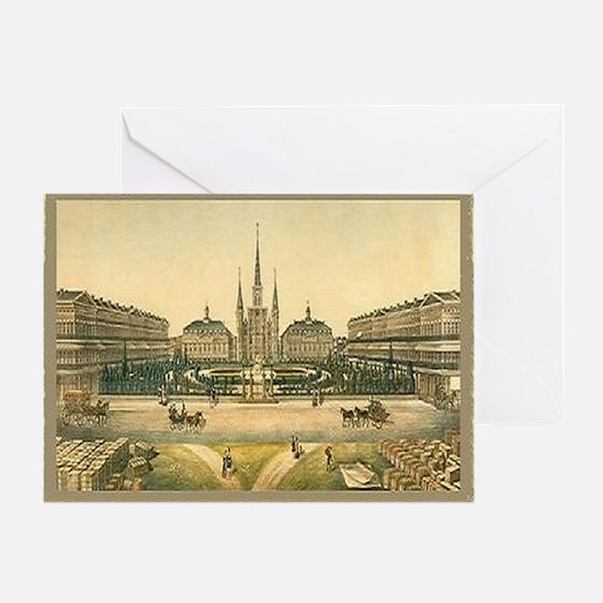 St. Louis Cathedral Card Greeting Cards