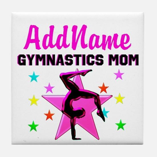 GREAT GYMNAST MOM Tile Coaster