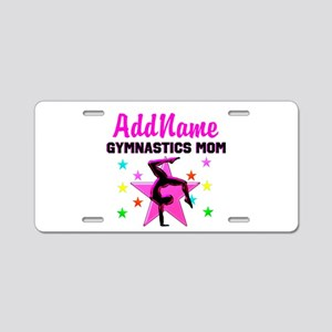 GREAT GYMNAST MOM Aluminum License Plate