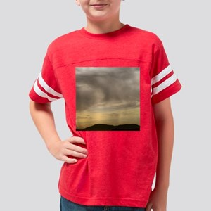 clouds02tile Youth Football Shirt