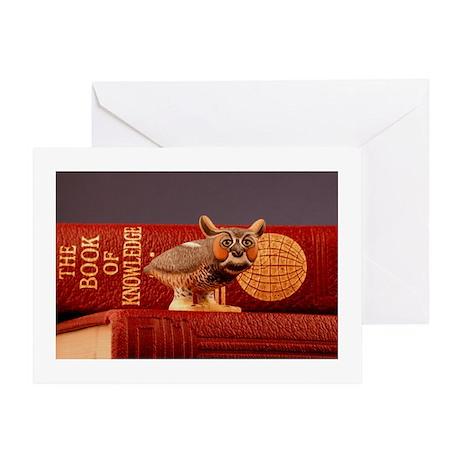 Erudite Owl Card