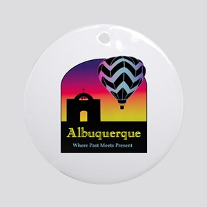 Albuquerque Ornament (Round)