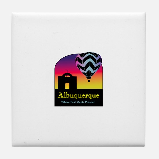 Albuquerque Tile Coaster