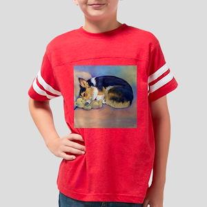2-cpcorgimybabypillow Youth Football Shirt