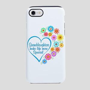 Granddaughter Special Heart iPhone 7 Tough Case