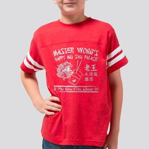 MASTER WONG WHITE TRANS Youth Football Shirt