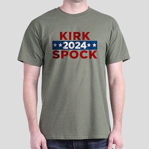 Star Trek Kirk Spock 2020 Dark T-Shirt