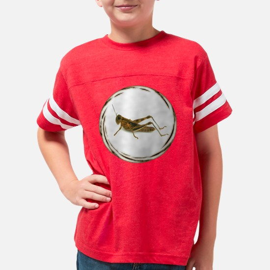 Grasshopper black Youth Football Shirt