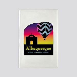 Albuquerque Rectangle Magnet