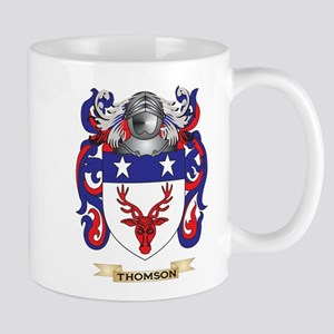 Thomson Scotland Family Crest (Coat of Arms) Mugs
