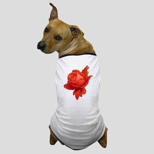 """""""Rose 1"""" Dog T-Shirt"""
