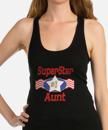 SUPERSTARAunt.png Racerback Tank Top