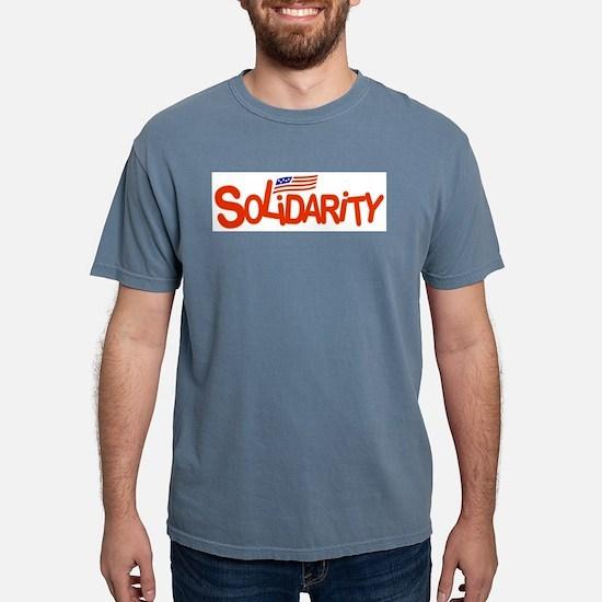 Funny Solidarity Mens Comfort Colors Shirt
