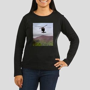 Blackhawk Approach Women's Long Sleeve Dark T-Shir