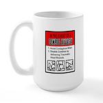 Zombie Attack! Large Mug
