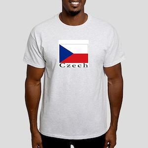 Czech Republic Ash Grey T-Shirt