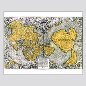 World Map 1531 Posters