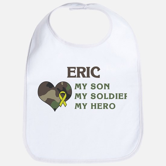 Eric: My Hero Bib