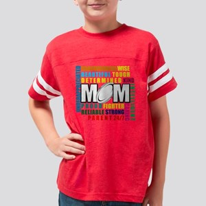 What is a Rugby Mom copy Youth Football Shirt