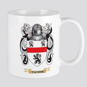Thorne Family Crest (Coat of Arms) Mugs