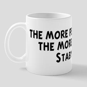 Stabyhoun: people I meet Mug
