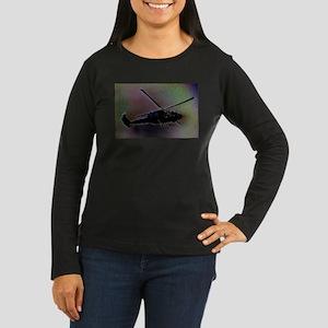 Blackhawk Hover Women's Long Sleeve Dark T-Shirt