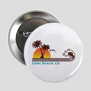 Long Beach California Button