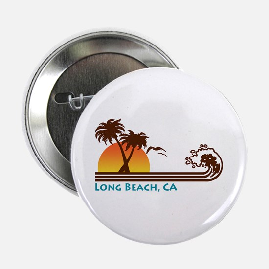 Long Beach California Button