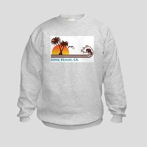 Long Beach California Kids Sweatshirt