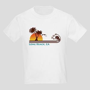 Long Beach California Kids T-Shirt