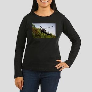 Mountain Pass Women's Long Sleeve Dark T-Shirt