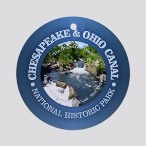 C & O National Historic Park Round Ornament