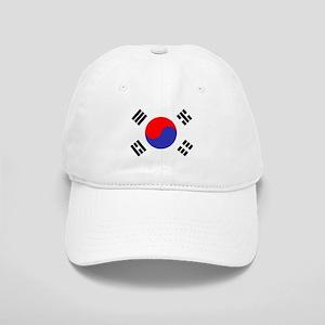 Flag South Korea Baseball Cap