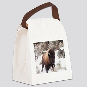 Buffalo Canvas Lunch Bag