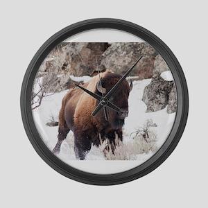 Buffalo Large Wall Clock