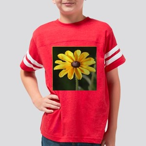 RudbeckiaDaisySquareBorder Youth Football Shirt