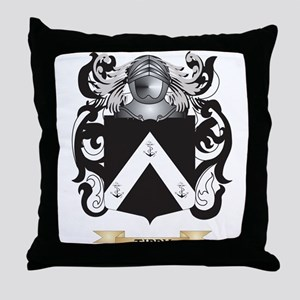 Tibby Family Crest (Coat of Arms) Throw Pillow