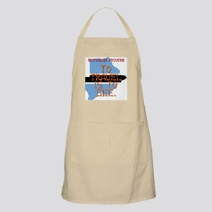 To Travel Is To See - Botswana Light Apron