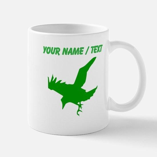 Custom Green Eagle Silhouette Mugs