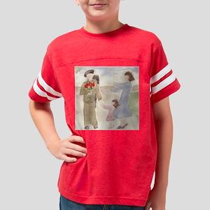 bandagesandtulipssquare Youth Football Shirt