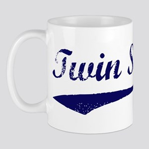 Vintage (Blue) Twin Sister Mug