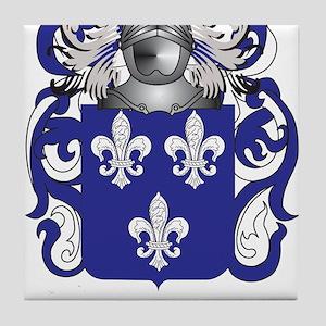 Tillmon Family Crest (Coat of Arms) Tile Coaster