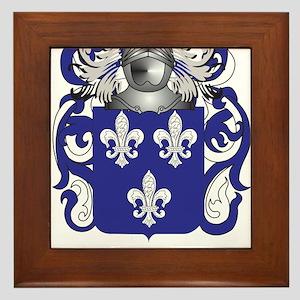 Tillmon Family Crest (Coat of Arms) Framed Tile