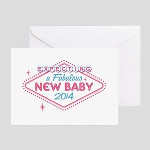 Las Vegas Expecting 2014 Greeting Card