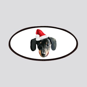 Dachshund_Xmas_face001b Patches