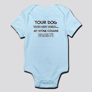 My stone cougar Cat is Family Infant Bodysuit
