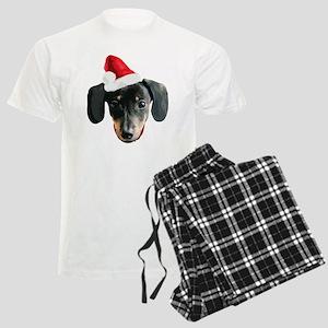 Dachshund_Xmas_face001b Pajamas