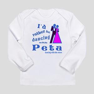 Dancing With Peta Long Sleeve Infant T-Shirt
