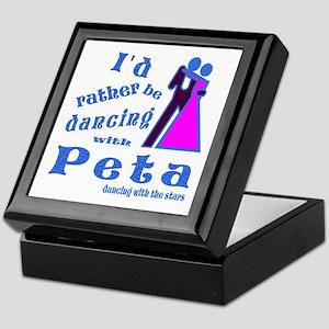 Dancing With Peta Keepsake Box