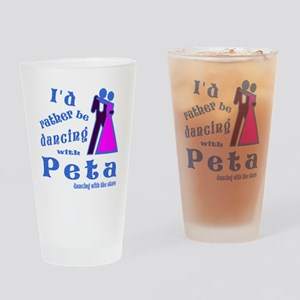 Dancing With Peta Drinking Glass